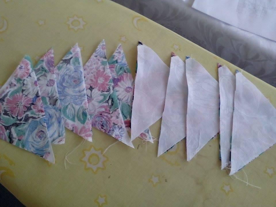 Patchwork háromszög